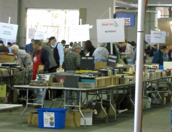 photo of books and people at Greater St. Louis Book Fair