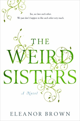 cover of The Weird Sisters by Eleanor Brown