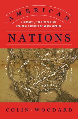 cover of American Nations by Colin Woodard
