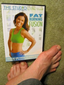 feet and Fat Burning Fusion by Ellen Barrett DVD