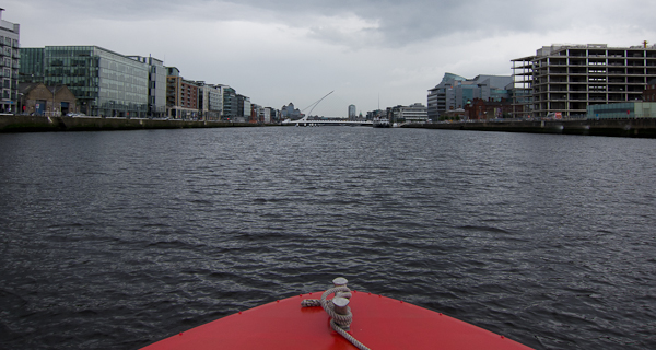 photo from our River Liffey Cruise