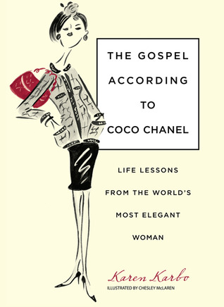 cover of The Gospel According to Coco Chanel by Karen Karbo