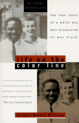 cover of Life on the Color Line by Gregory Williams
