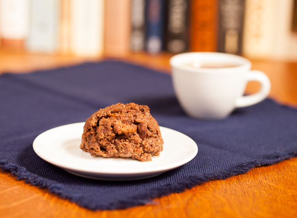 photo of Chocolate Bread Pudding and a cup of tea