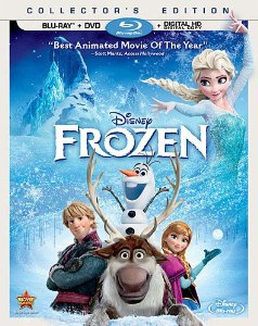 Frozen DVD cover