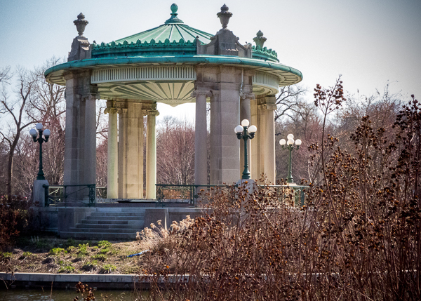 Bandstand in Forest Park