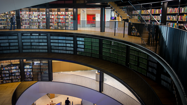 Interior of The Library of Birmingham