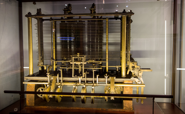 Analytical Engine by Charles Babbage, Science Museum, London