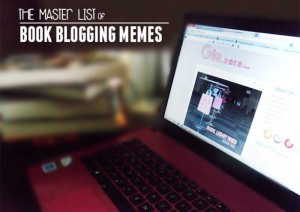 master list book blogging memes