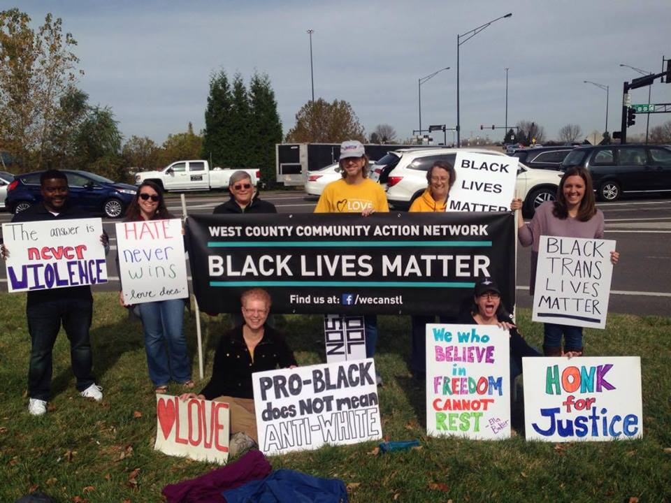 West County Community Action Network -- WE CAN -- vigil