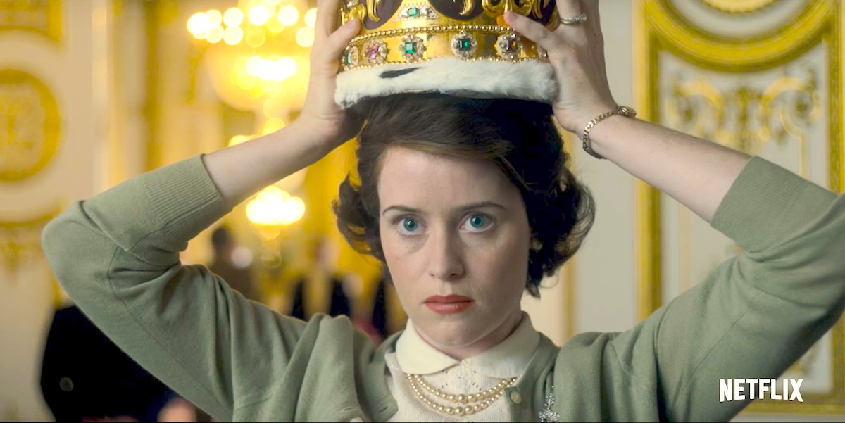 Claire Foy as Queen Elizabeth II